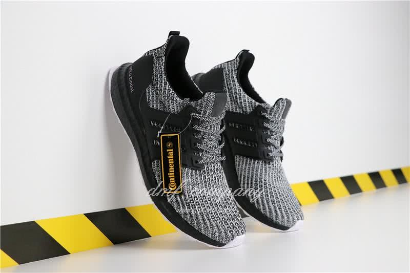 Adidas Ultra Boost 4.0 Men Women Grey Black Shoes 1