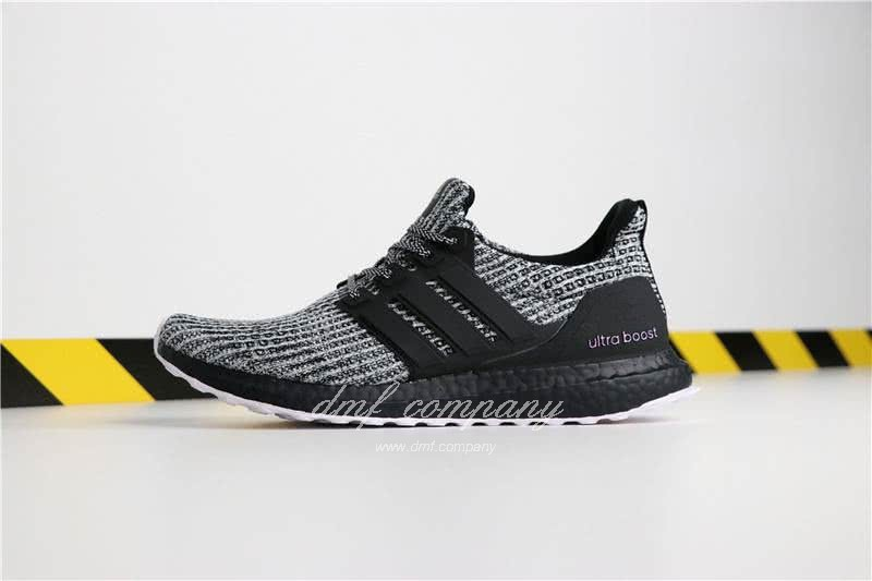 Adidas Ultra Boost 4.0 Men Women Grey Black Shoes 2