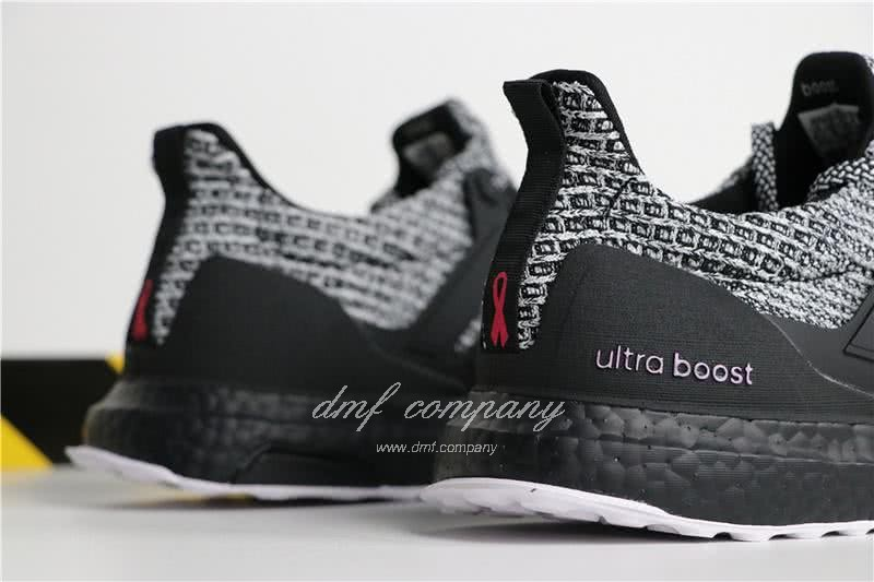 Adidas Ultra Boost 4.0 Men Women Grey Black Shoes 6