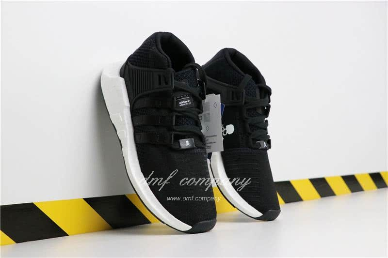Adidas EQT 93∕17 Boost Black Upper And White Side Men 2