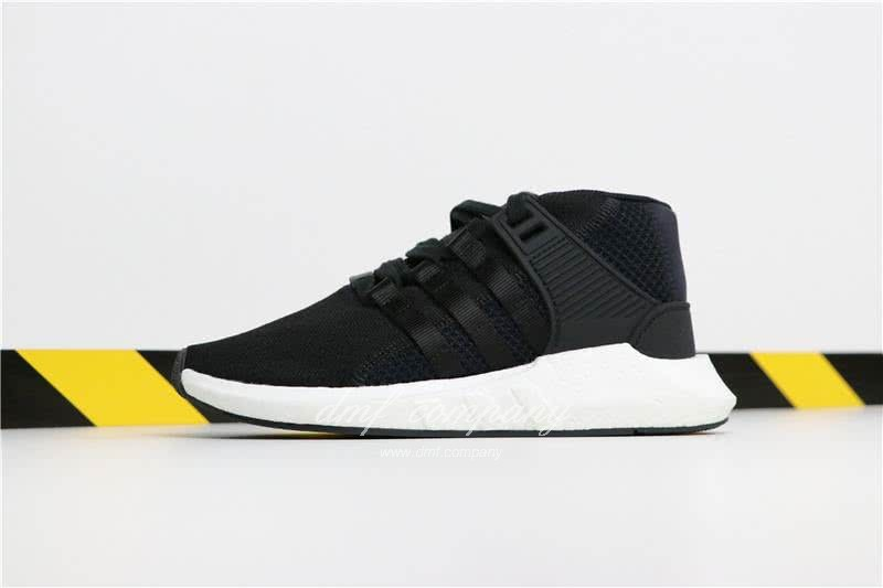 Adidas EQT 93∕17 Boost Black Upper And White Side Men 1