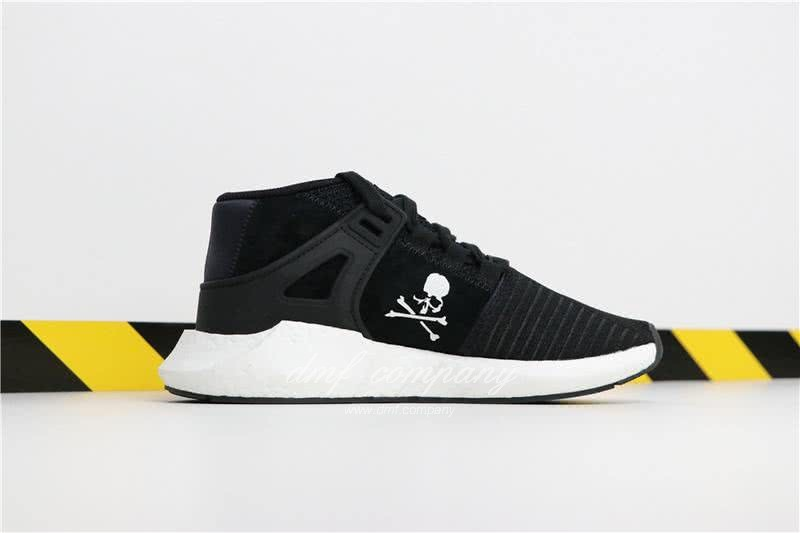 Adidas EQT 93∕17 Boost Black Upper And White Side Men 3