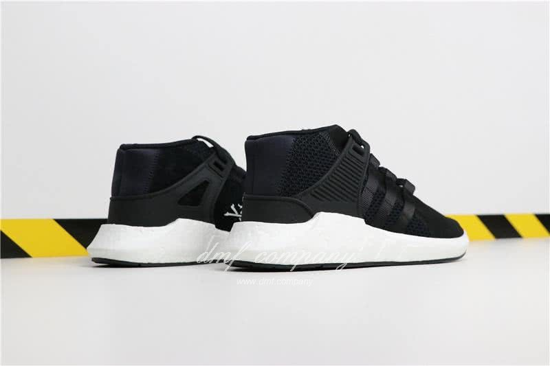 Adidas EQT 93∕17 Boost Black Upper And White Side Men 5