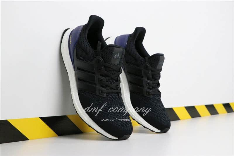 Adidas Ultra Boost 1.0 Men Black Blue Shoes  1