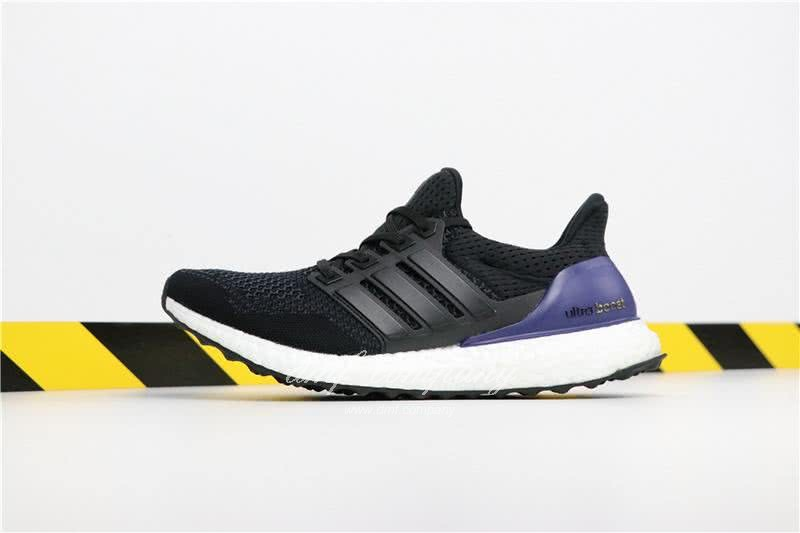Adidas Ultra Boost 1.0 Men Black Blue Shoes  2