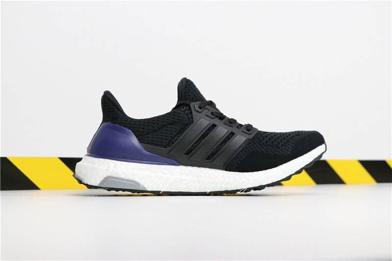 Adidas Ultra Boost 1.0 Men Black Blue Shoes  3