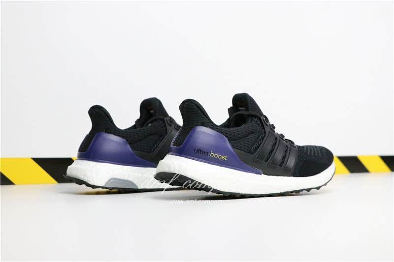 Adidas Ultra Boost 1.0 Men Black Blue Shoes  5