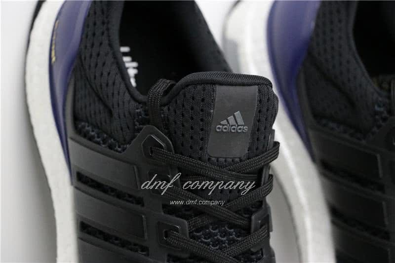Adidas Ultra Boost 1.0 Men Black Blue Shoes  7