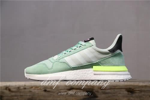 Adidas ZX500 RM Boost Green And Yellow Men And Women 15